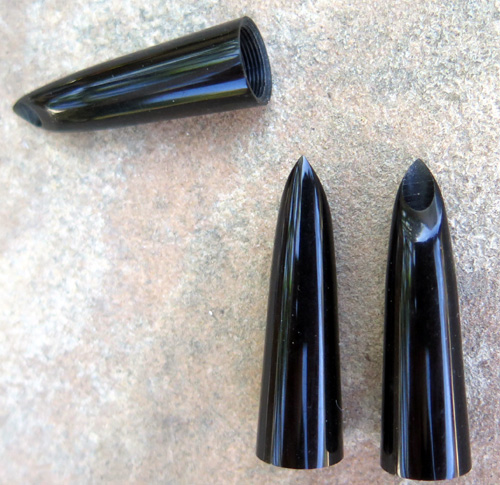 BLACK PARKER 51 SHELLS. NEW OLD STOCK