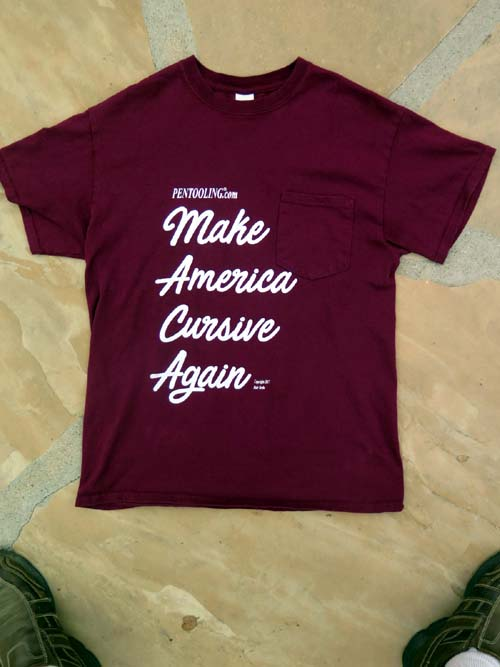 MAKE AMERICA CURSIVE AGAIN
