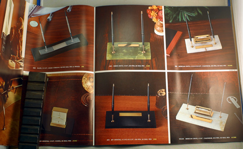 PARKER 1970 DESK SET CATALOG/BROCHURE