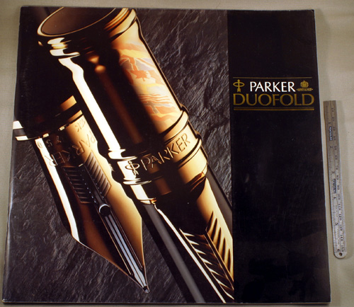 parker duofold sizes
