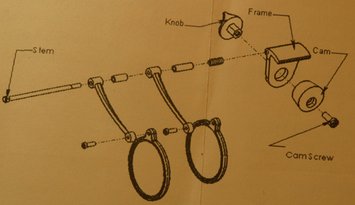 EYEGLASS LOUPE DIAGRAM
