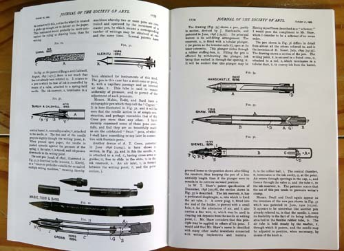 "BOOK:  ""RESERVOIR FOUNTAIN AND STYLOGRAPHIC PENS - The 1905 Cantor Lectures"