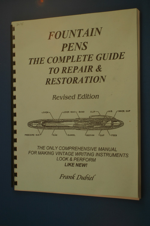 fountain pen repair manual