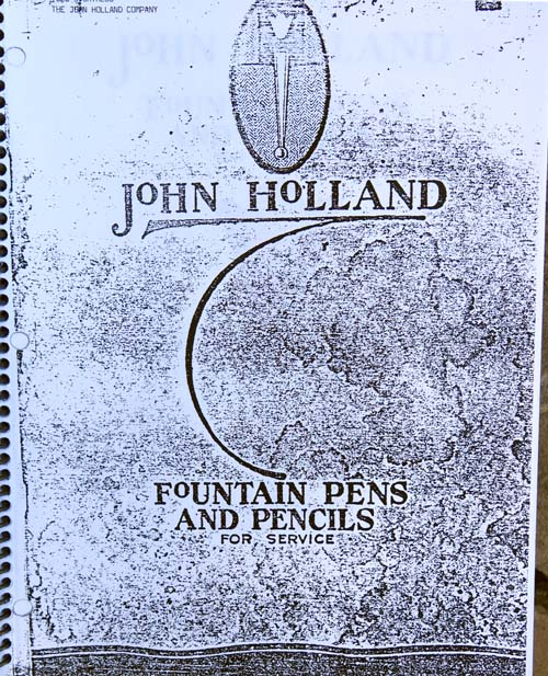 1920-1930 OLD PEN CATALOG COPIES