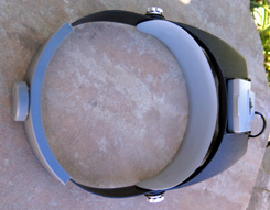 ILLUMINATED, MAGNIFYING HEAD VISOR