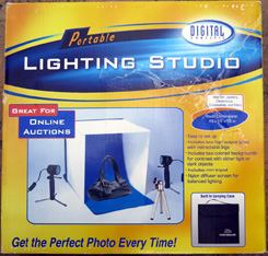 PORTABLE PHOTO LIGHTING STUDIO