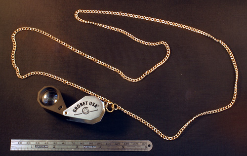 "36"" LOUPE NECK CHAIN"