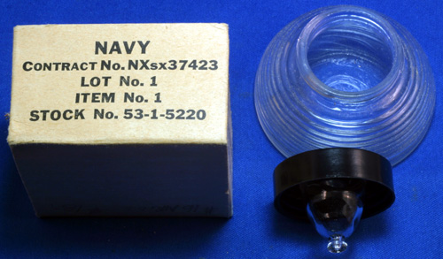 NEW OLD STOCK NAVY INKWELL