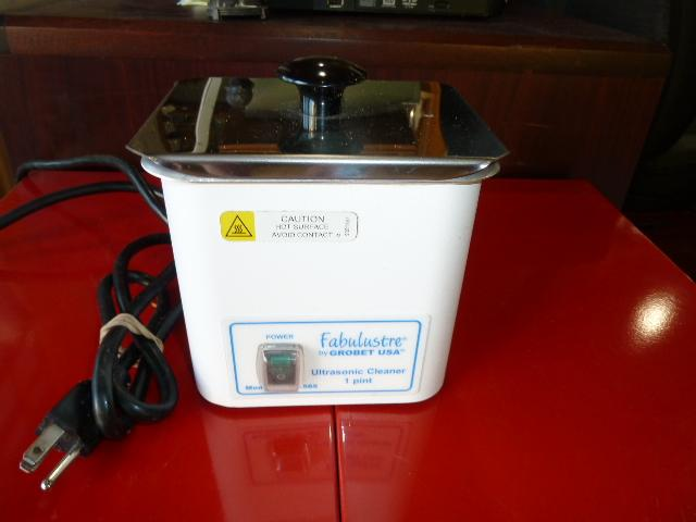 ALL METAL ULTRASONIC CLEANER