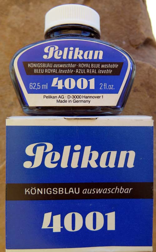 PELIKAN 4001 INK IN 2 OUNCE BOTTLE