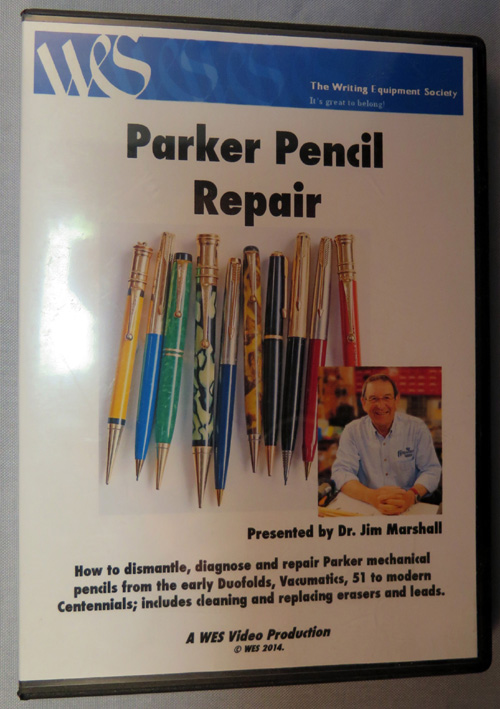 Dr. Jim Marshall's Parker pencil repair DVD