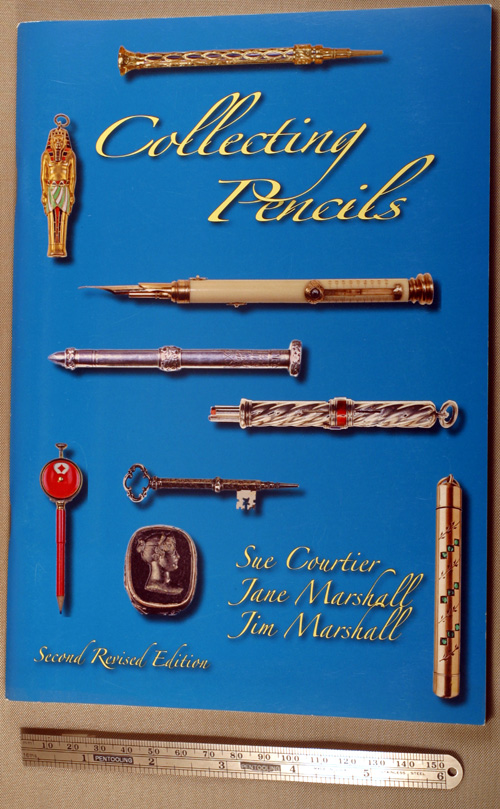 NEW BOOK:  COLLECTING PENCILS by COUTIER & both MARSHALLs
