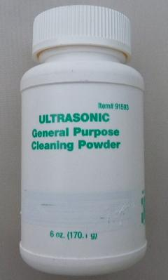 ULTRASONIC CLEANER detergent