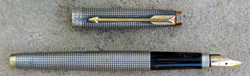 PARKER 75 SPANISH TREASURE FOUNTAIN PEN