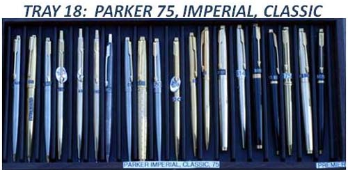 MISC PARKER 75 FOUNTAIN PENS