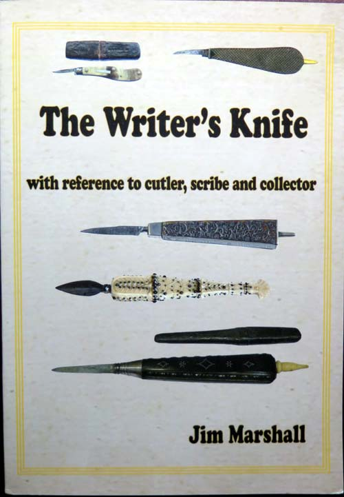 "JIM MARSHALL's ""THE WRITER'S KNIFE"" BOOK: 120 Pages"