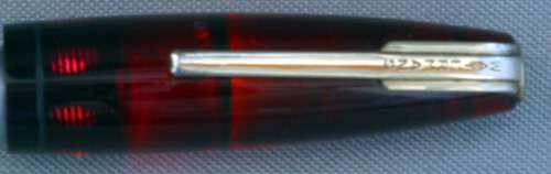 SMOOTH RED 100 YEAR PEN CAP