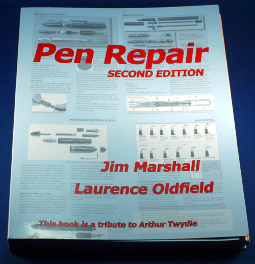 JIM MARSHALL'S PEN REPAIR BOOK